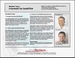 Kurs - Internett for bedrifter